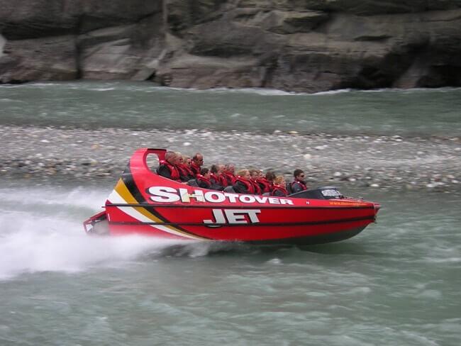 Shotover Jet Nouvelle Zélande activités à faire-min