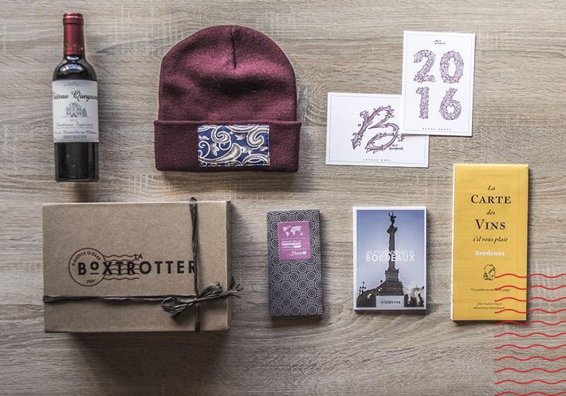 Box voyage La Box Trotter - carnet de voyage