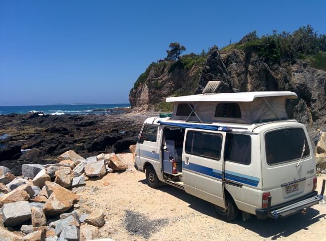 Road trip en van australie - Sydney à Melbourne - stop à Narooma-min