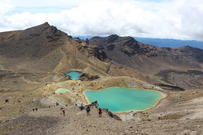 Tongariro - Nouvelle-Zélande