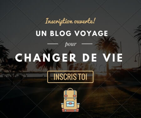 Formation Blogging Voyage - Un blog voyage pour changer de vie-min