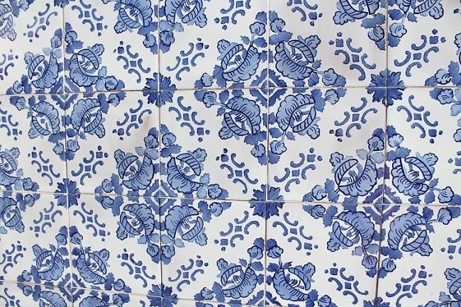 Azulejos au Portugal
