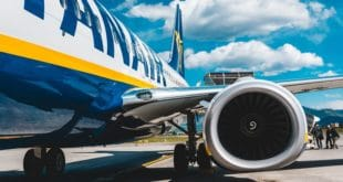 Retard avion Ryanair