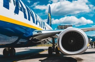 Retard avion Ryanair
